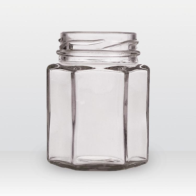 Glazen potten