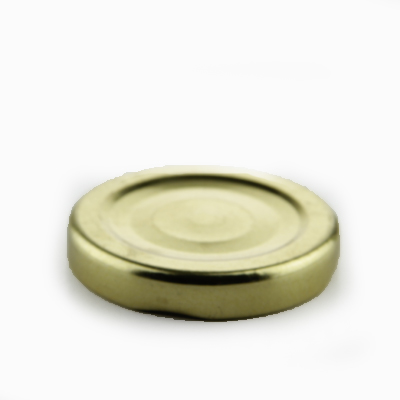 Twist Off Sluiting 48 Button, Goud