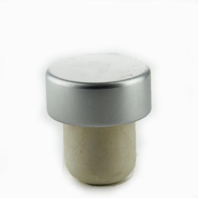 Dopkurk 19.5mm, Aluminium Zilver