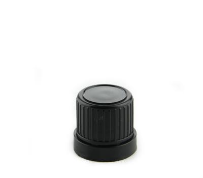 Druppelaar DIN18 Verzegelbaar, Zwart